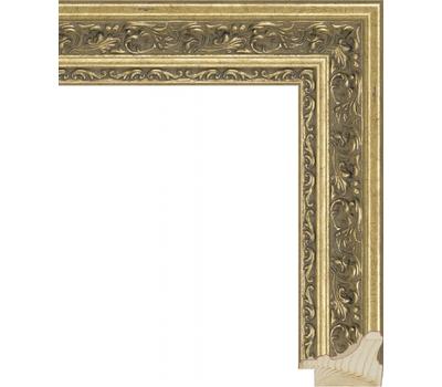 Деревянный багет NA014.1.037, ш: 4.2см в: 3.1см, фото 1