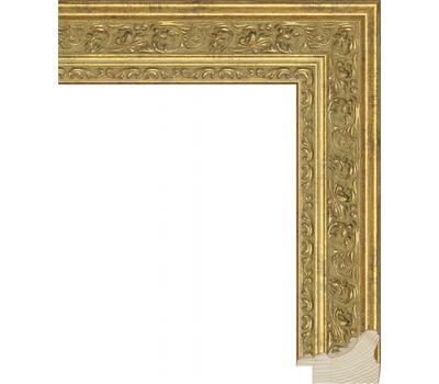 Деревянный багет NA014.1.038, ш: 4.2см в: 3.1см, фото 1