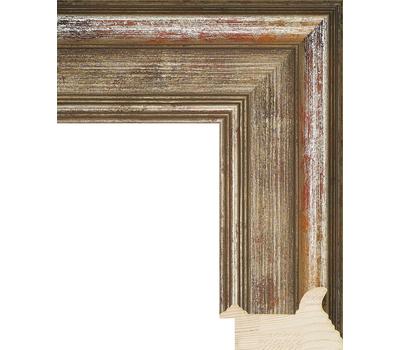 Деревянный багет NA018.0.214, ш: 6.7см в: 3.6см, фото 1