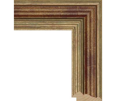 Деревянный багет NA026.0.059, ш: 5.7см в: 2.2см, фото 1