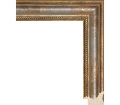 Деревянный багет NA033.1.243, ш: 3.8см в: 2.6см, фото 1