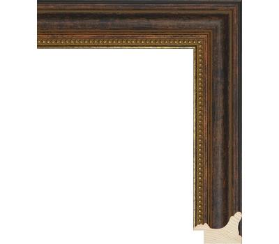 Деревянный багет NA033.1.274, ш: 3.8см в: 2.6см, фото 1