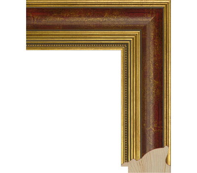 Деревянный багет NA035.1.059, ш: 5.6см в: 3.2см, фото 1
