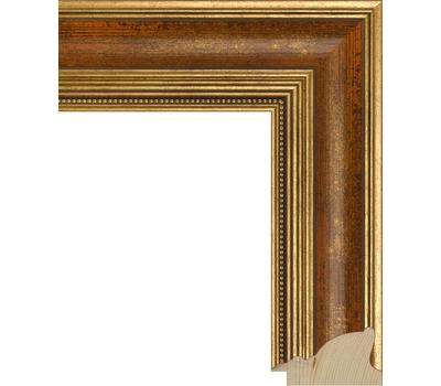 Деревянный багет NA035.1.084, ш: 5.6см в: 3.2см, фото 1
