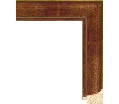 Деревянный багет NA044.0.101, ш: 3.8см в: 2.5см, фото 1