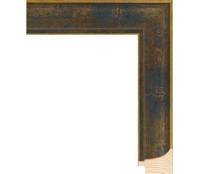 Деревянный багет NA044.0.103, ш: 3.8см в: 2.5см, фото 1