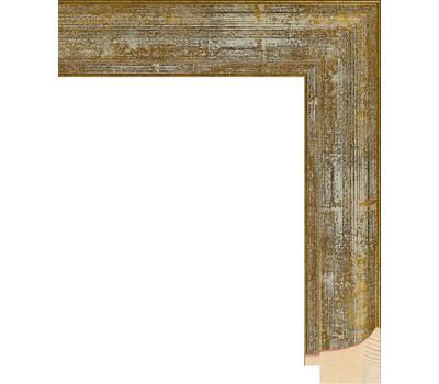 Деревянный багет NA044.0.104, ш: 3.8см в: 2.5см, фото 1