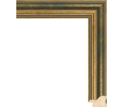 Деревянный багет NA045.1.096, ш: 3.3см в: 2.2см, фото 1