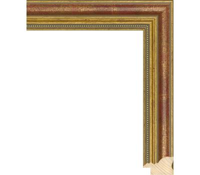 Деревянный багет NA045.1.142, ш: 3.3см в: 2.2см, фото 1