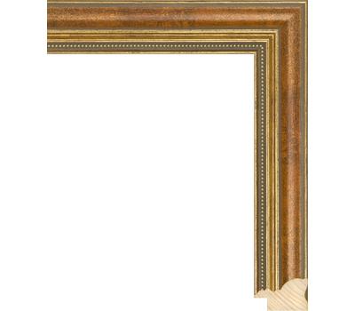 Деревянный багет NA045.1.144, ш: 3.3см в: 2.2см, фото 1