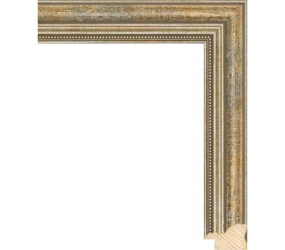 Деревянный багет NA045.1.145, ш: 3.3см в: 2.2см, фото 1