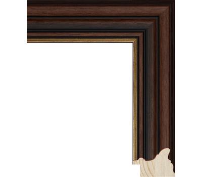 Деревянный багет NA048.0.360, ш: 4.7см в: 3.2см, фото 1