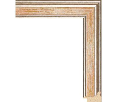 Деревянный багет NA052.0.115, ш: 3.4см в: 2.2см, фото 1