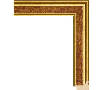 Деревянный багет NA052.0.119, ш: 3.4см в: 2.2см, фото 1
