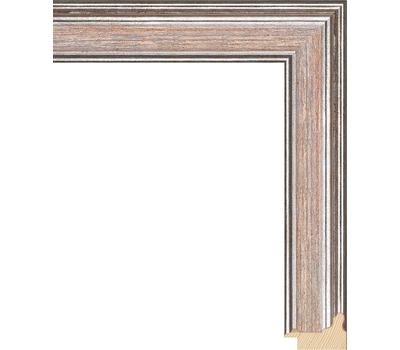 Деревянный багет NA052.0.252, ш: 3.4см в: 2.2см, фото 1