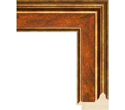 Деревянный багет NA053.0.117, ш: 5.7см в: 3.2см, фото 1