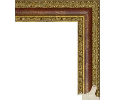 Деревянный багет NA055.1.100, ш: 4.2см в: 3.2см, фото 1