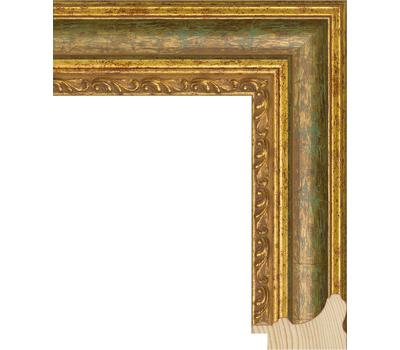 Деревянный багет NA058.1.001, ш: 5.2см в: 3.3см, фото 1