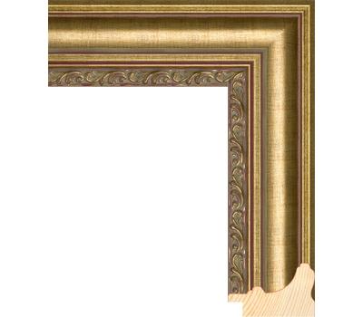 Деревянный багет NA058.1.129, ш: 5.2см в: 3.3см, фото 1