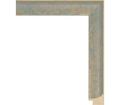 Деревянный багет NA066.0.126, ш: 2.7см в: 2.2см, фото 1