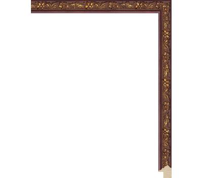 Деревянный багет NA073.1.061, ш: 1.4см в: 1.7см, фото 1
