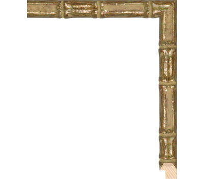 Деревянный багет NA075.1.218, ш: 2см в: 2.1см, фото 1