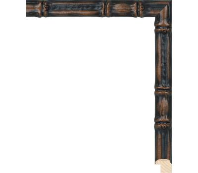 Деревянный багет NA075.1.220, ш: 2см в: 2.1см, фото 1