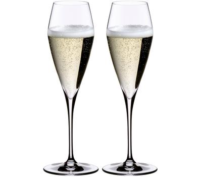 Бокалы для шампанского Champagne Glass Riedel Vitis, 320мл - 2шт, фото 1