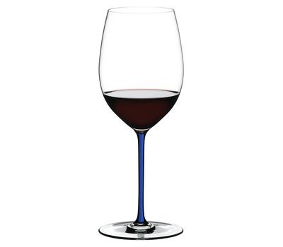 Бокал для вина Cabernet/Merlot Riedel Fatto a Mano, 625мл, синяя ножка, фото 1