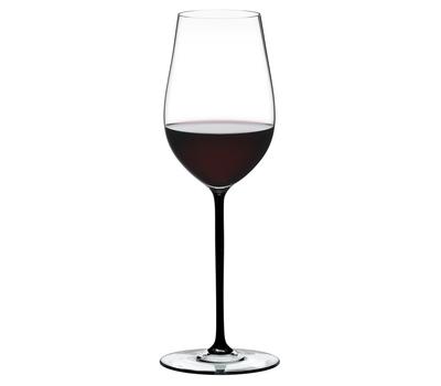 Бокал для белого вина Riesling/Zinfandel Riedel Fatto a Mano, 395мл, черная ножка, фото 1