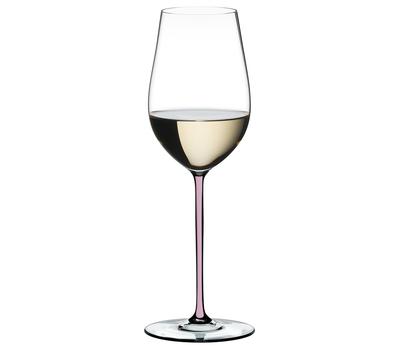 Фужер для белого вина Riesling/Zinfandel Riedel Fatto a Mano, 395мл, розовая ножка, фото 1
