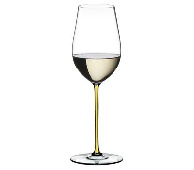 Фужер для белого вина Riesling/Zinfandel Riedel Fatto a Mano, 395мл, желтая ножка, фото 1
