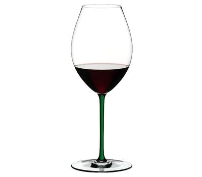 Фужер для красного вина Old World Syrah Riedel Fatto a Mano, 650мл, зеленая ножка, фото 1