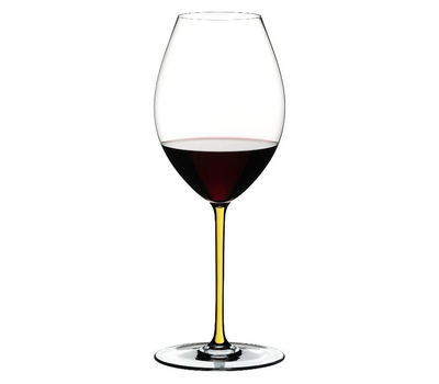 Фужер для красного вина Old World Syrah Riedel Fatto a Mano, 650мл, желтая ножка, фото 1