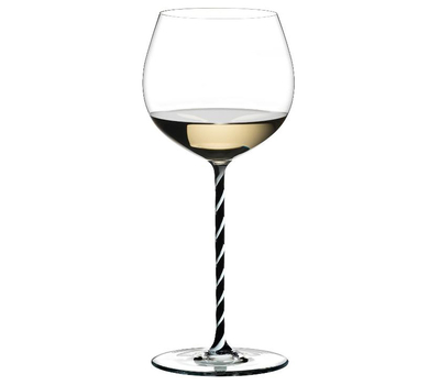 Фужер для вина Oaked Chardonnay Riedel Fatto a Mano, 620мл, черно-белая ножка, фото 1