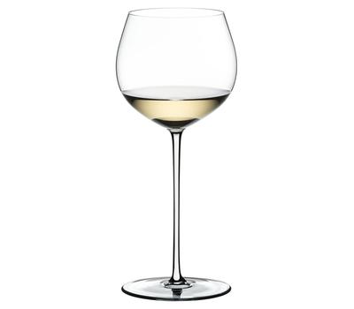 Бокал для красного вина Oaked Chardonnay Riedel Fatto a Mano, 620мл, белая ножка, фото 1