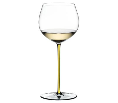 Фужер Oaked Chardonnay Riedel Fatto a Mano, 620мл, желтая ножка, фото 1
