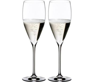 Набор бокалов для шампанского Champagne Glass Riedel Vinum XL, 340мл - 2шт, фото 1