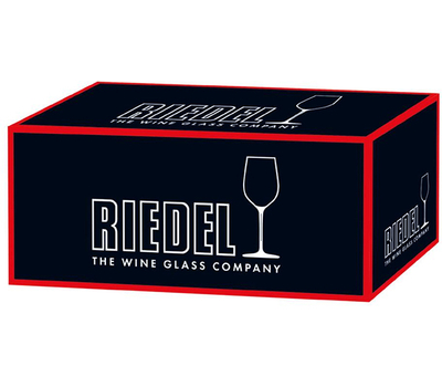 Бокал для шампанского Champagne Wine Glass Riedel Fatto a Mano 445мл, черная ножка, фото 2
