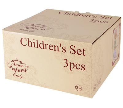 """Набор посуды для детей Anna Lafarg Emily """"Жираф"""" - 3 предмета, фото 2"""