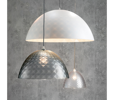 Плафон для светильника Koziol Stella Silk S, серый, 25см, фото 3
