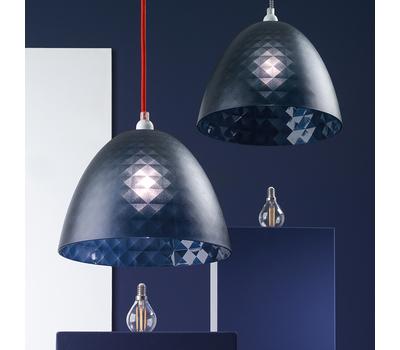 Плафон для светильника Koziol Stella Silk S, серый, 25см, фото 4