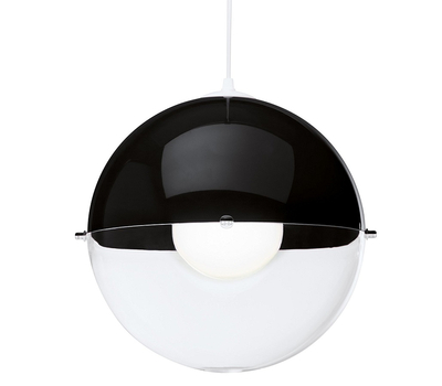 Подвесной светильник Koziol Orion, чёрный, 30.2см, фото 1