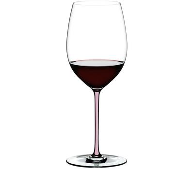 Бокал для вина Cabernet/Merlot Riedel Fatto a Mano, 625мл, розовая ножка, фото 1
