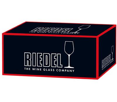 Фужер для вина Oaked Chardonnay Riedel Fatto a Mano, 620мл, красная ножка, фото 2
