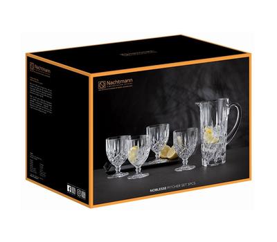 Набор для вина Nachtmann Noblesse: 4 бокала и кувшин, фото 2