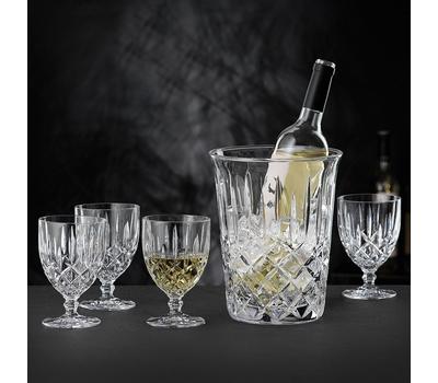 Набор для вина Nachtmann Noblesse: 4 бокала и ведёрко, фото 1