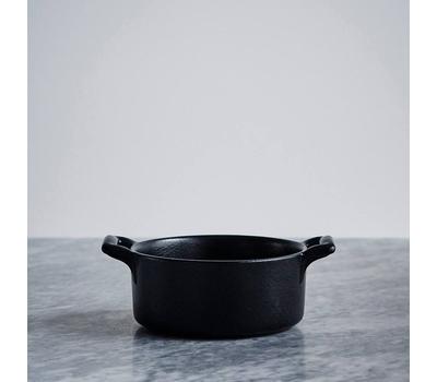 Кокотница овальная Revol Belle Cuisine, черная, 0.25л, 11х10см, фото 2