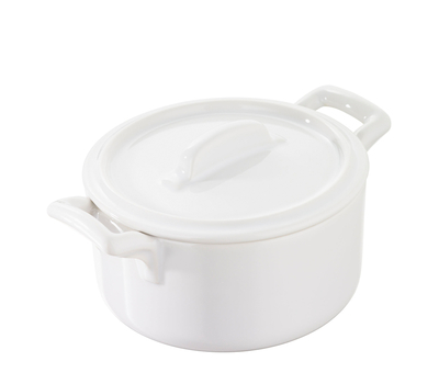 Кокотница Revol Belle Cuisine, белая, 0.2л, 10см, фото 1