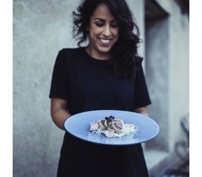 Закусочная тарелка Revol Equinoxe, синяя, 24см, фото 2